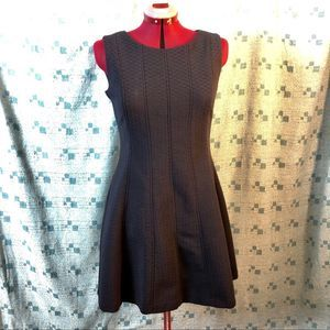 Gabby Skye fit and flare navy dress